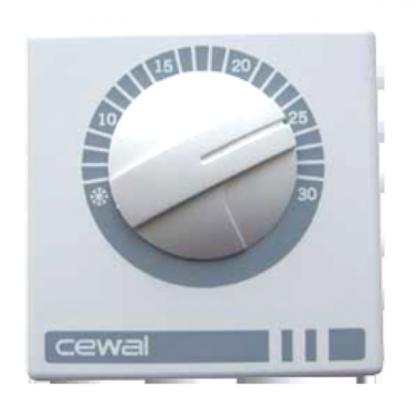 Регулятор температуры CEWAL RQ01 Италия (16А)
